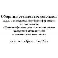Posters of XXXIV International Conference on Socionics